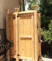 Outdoor Shower Enclosures | Cape Cod Shower Kits