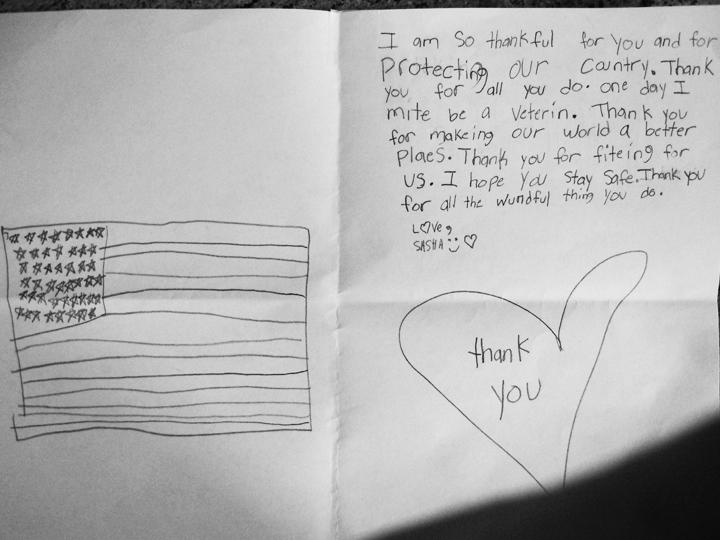 Second-graders write letters to thank veterans Cape Gazette