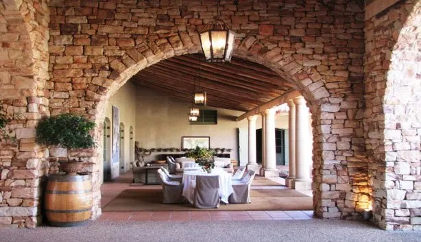 Restaurants With Fireplaces Cape Winelands Eating Out