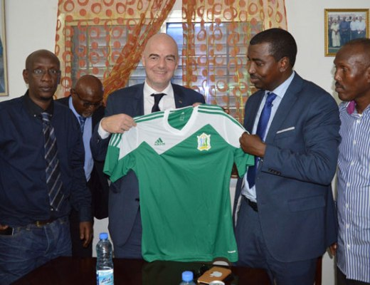 Image result for infantino a djibouti