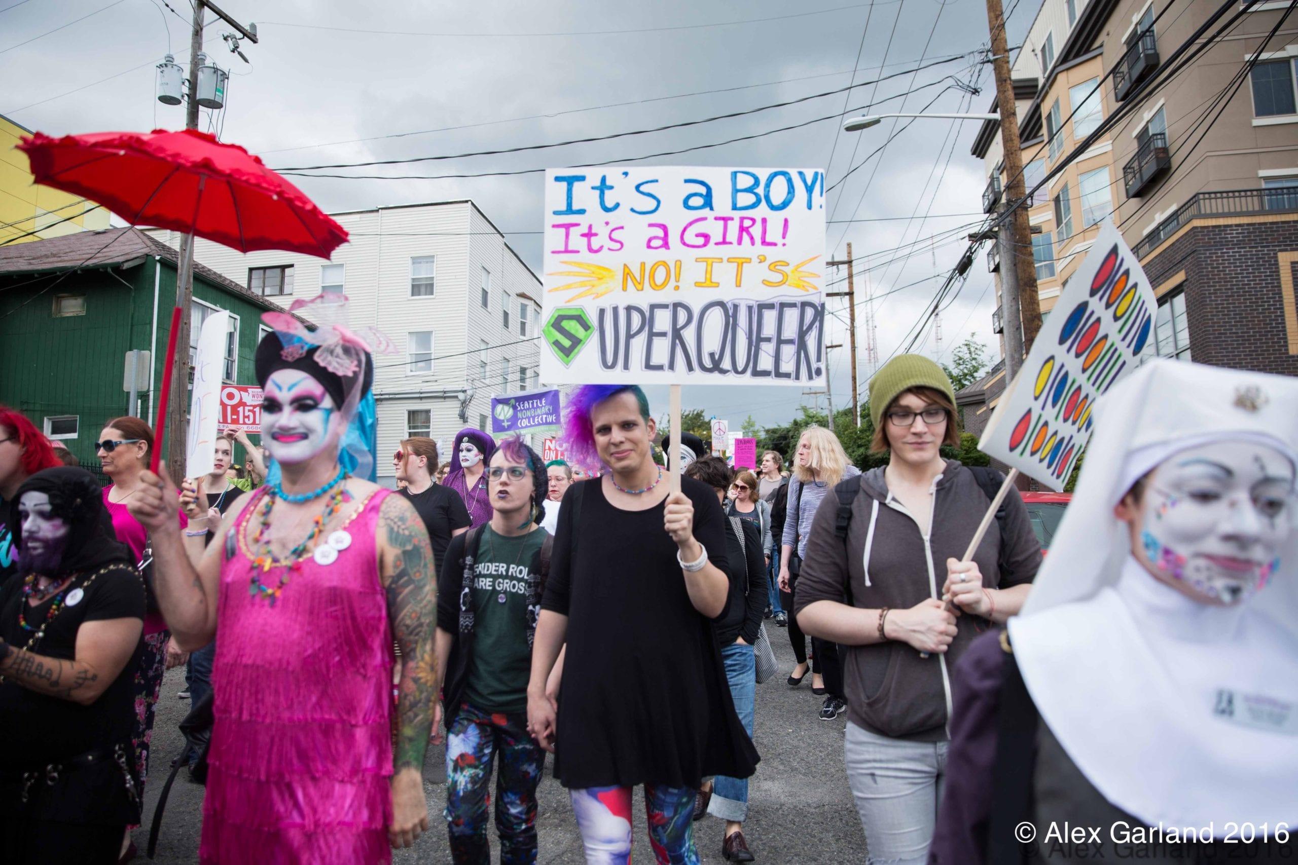 Trans* Pride 2016 dances through the rain on Capitol Hill | CHS ...