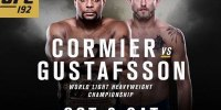 Cormier vs. Gustafsson – 10-3-2015 Free UFC 192 Picks & Handicapping Lines Preview