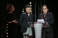 Jean Pierre Leaud, La 22e Ceremonie des Lumieres, Theatre de La Madeleine, Paris, France 30/01/2017.