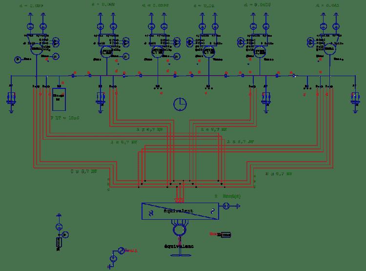 aircraft carrier electrical power grid psim diagram