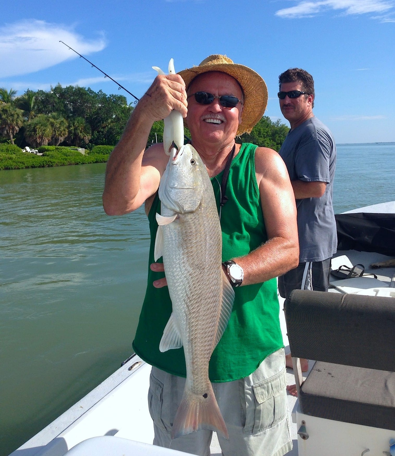 Tuesday 9 3 13 captiva fishing report redfish around for Captiva island fishing charters
