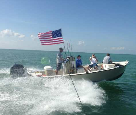 Flag, Fishing, Memorial Day, 5-26-14, Sanibel & Captiva Islands & Fort Myers Charters & Fishing Guide Service.