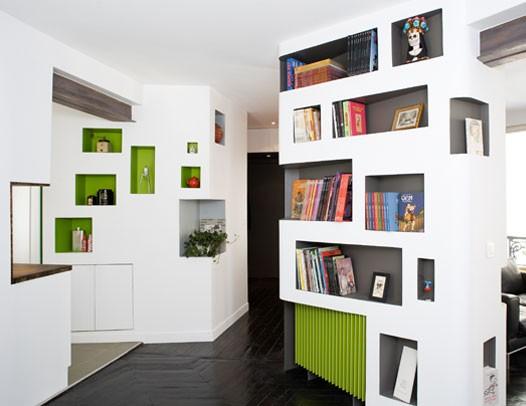 Unusual Bookcase Designs By H2o Architectes Captivatist