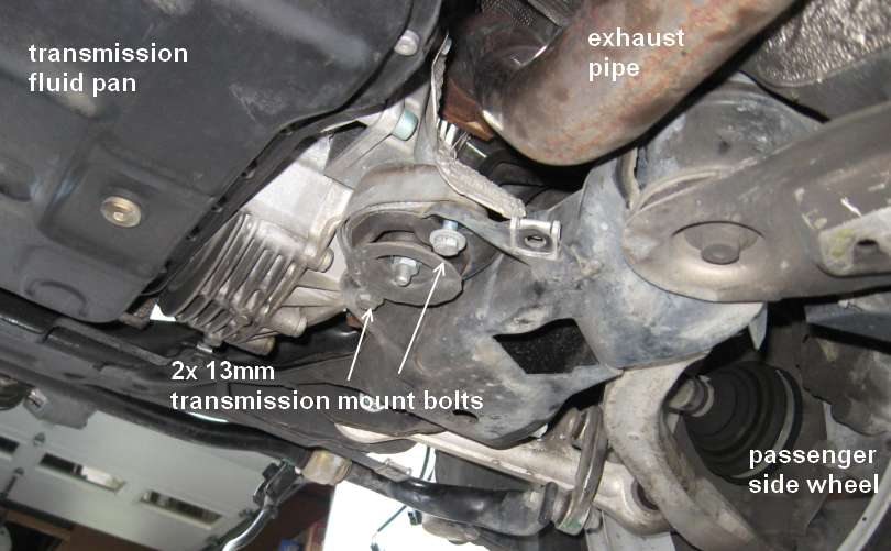 vw engine mount diagram