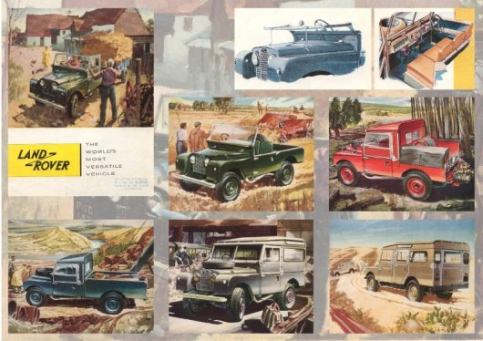 British car brochures wwwcar-brochureseu - Land Rover brochures
