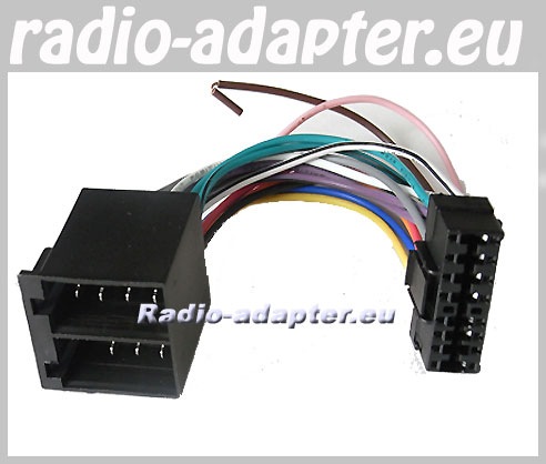 Sony CDX 3002, CDX 3100,, Car Radio Stereo ISO Wiring Loom - Car