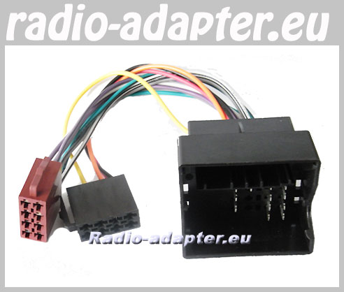 Ford Fiesta 2005 - 2009 Stereo ISO Harness Adaptor, ISO Lead - Car