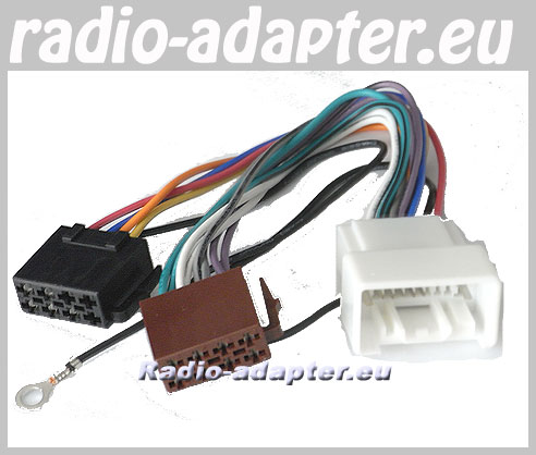 Mitsubishi Lancer Car Stereo Wiring Harness, 2007 Onwards without