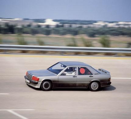 Mercedes-Benz 190 E record Nardò