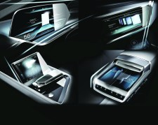 Audi e-tron quattro concept ? OLED-based operating and display