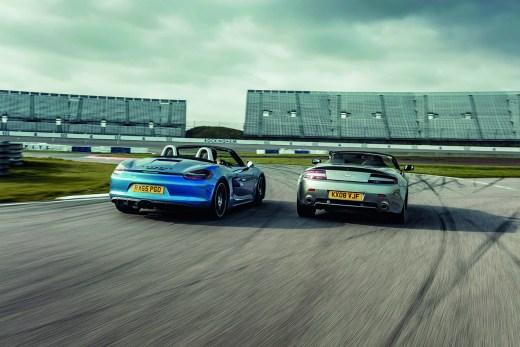 Porsche Boxster vs Aston Martin Roadster