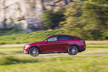 Mercedes-Benz GLC CoupÈ (C253), Press Test Drive Turin 2016