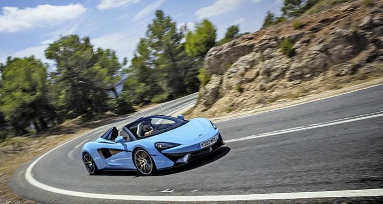 McLaren 570S Spider Launch World Copyright: ©McLarenAutomotive Ref: McLaren-570S-SpiderLaunch-43.CR2