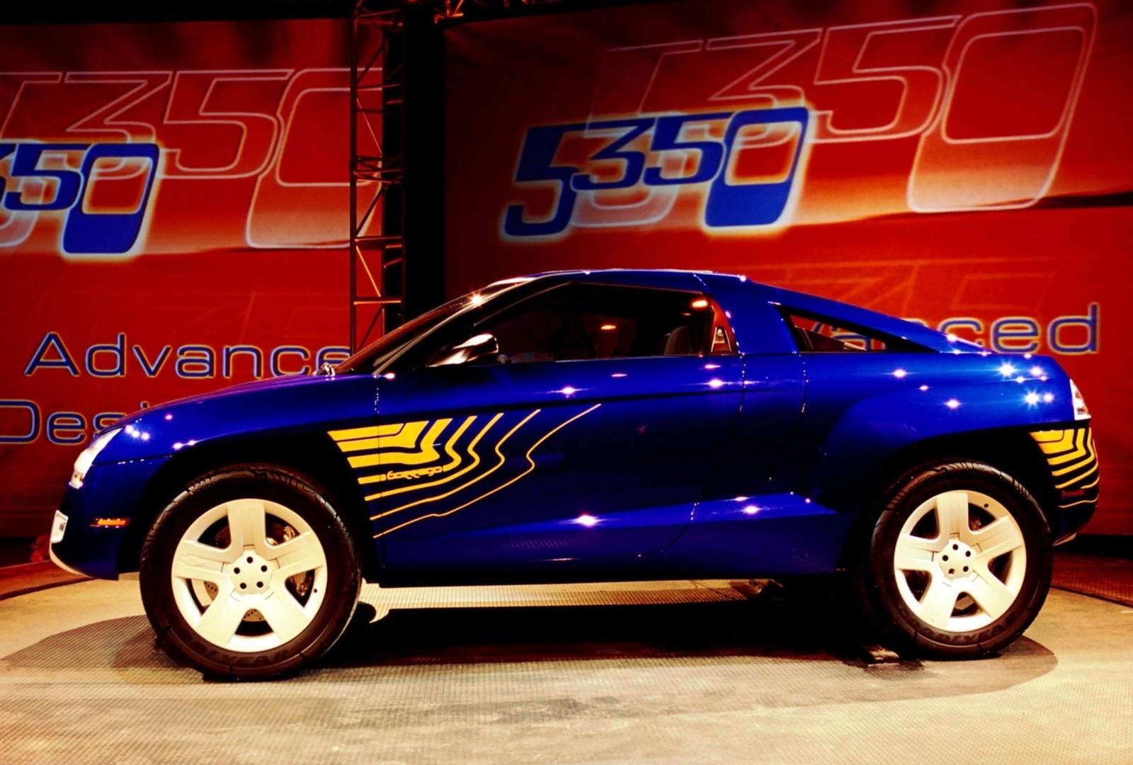 concept flashback 2001 chevrolet borrego concept