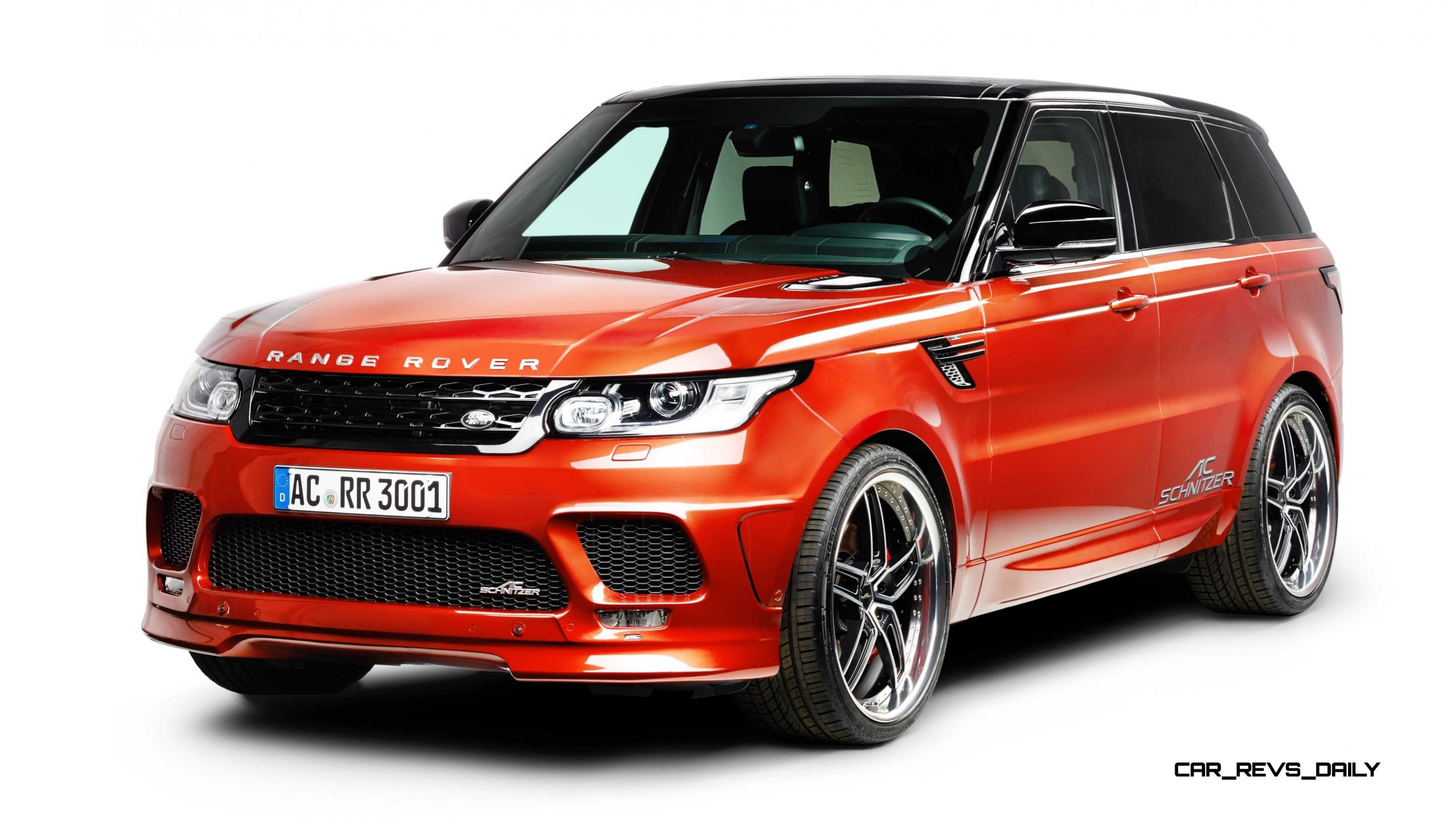 Intense Car Wallpapers Ac Schnitzer Range Rover Sport S Is Seductive Style And