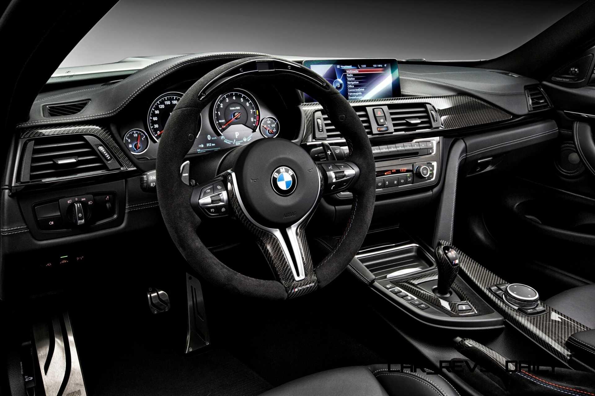 Car Dash Wallpaper 2015 Bmw M3 And M4 M Performance Parts