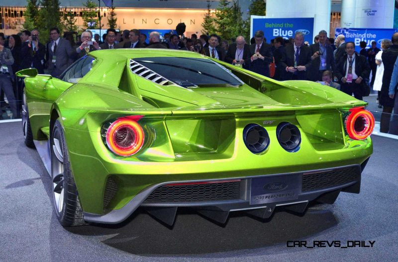 Wallpaper Black Green 2017 Ford Gt Digital Colorizer