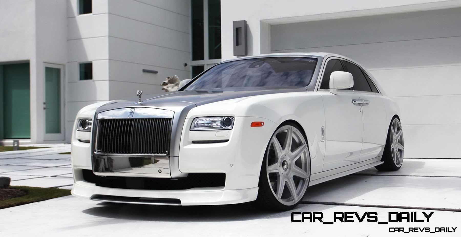 Latest Sports Cars 2014 Wallpaper Vorsteiner Rolls Royce Ghost