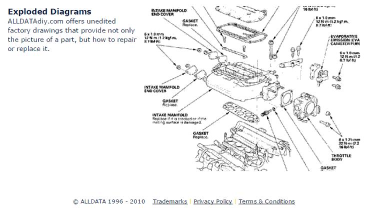 daewoo leganza hose diagram