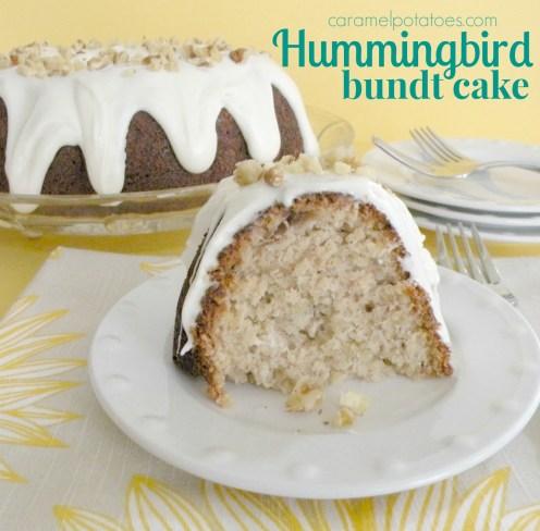 caramel potatoes hummingbird bundt cake