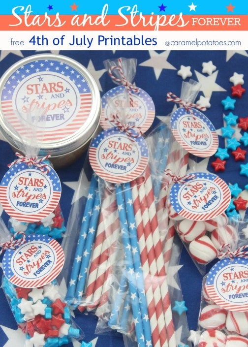 Stars and Stripes Forever - free printables for the 4th of July!!