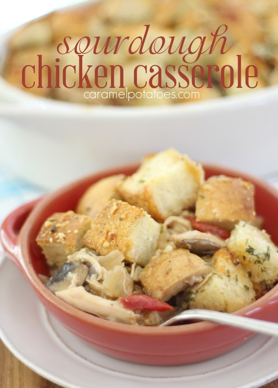 sour dough chicken casserole 130