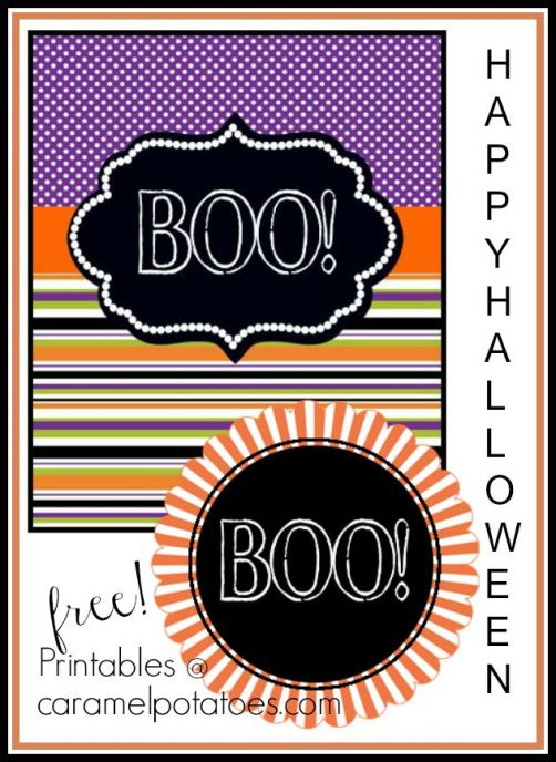 Boo! for You