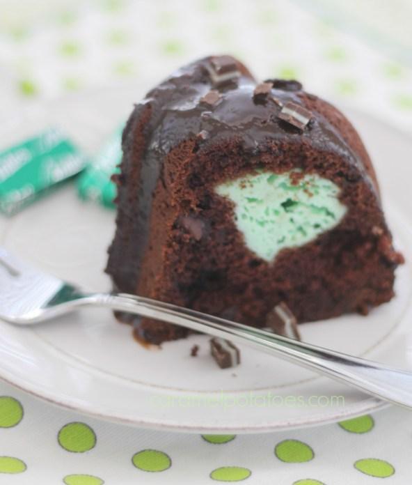 Mint Chocolate Bundt 079