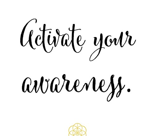 activate your awareness