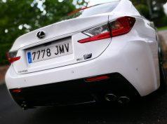 Trasera Lexus RC F