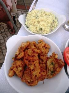Restaurante Noélia | Pataniscas de polvo