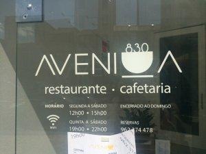 Avenida 830 | Restaurante | Porto