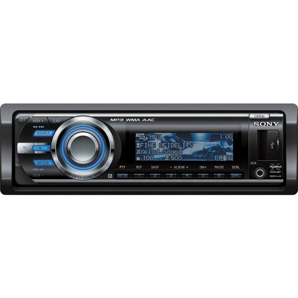 Sony CDX-GT730UI CD / MP3 car stereo, USB, iPod control - CDX