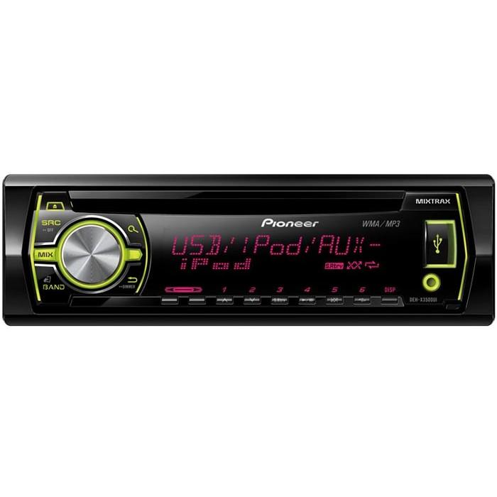Pioneer Car Stereo with USB and Aux, works with ipod and Smartphones