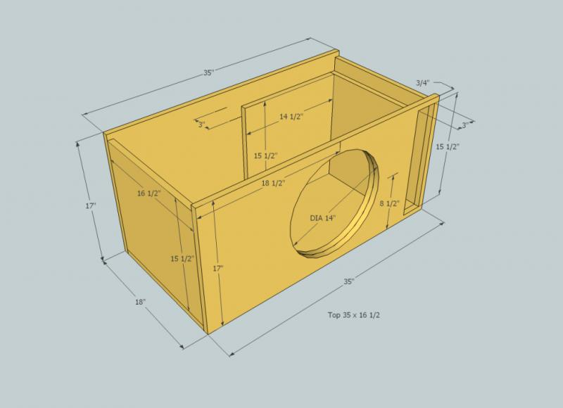 15 Subwoofer Box Plans Andybrauercom