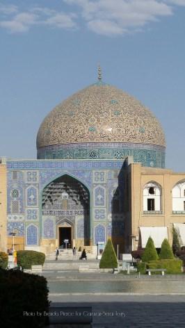 Shah Mosque at the Nagshe-Jahan Square in Isfahan