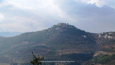 Hilltop castle Ajlun