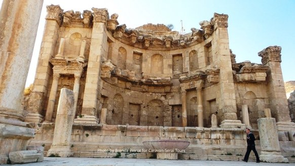 Nymphaem in Jerash