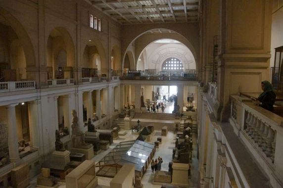 Inside the Egyptian National Museum