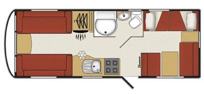 Coachman Amara 570/6 floorplan
