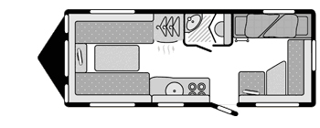 Sterling Europa 565 floorplan