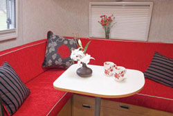 Airstream Bambi 422 Dining Area
