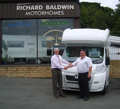 Gary Morgan and Richard Baldwin become business partners