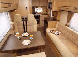 Bessacarr E435 interior
