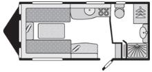 Swift Conqueror 480 Floorplan