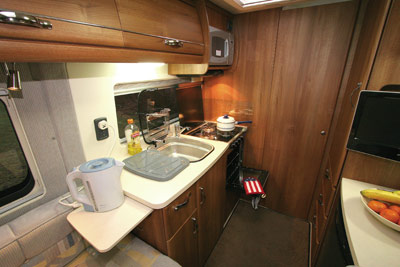 Autosleepers Kemerton Kitchen